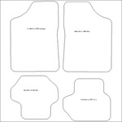 Ford Fiesta Mk1 and Mk2 Car Mats